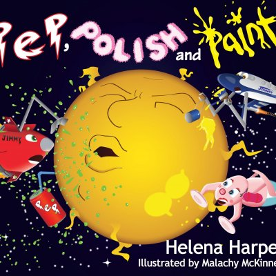 "READ  FIRST  PART  OF  HELENA'S  PICTURE  BOOK ""Pep, Polish and Paint"""